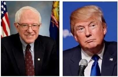 Bernie and Donald