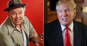 Separated at Birth - Archie Bunker and Donald Trump 150