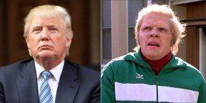 Separated at Birth - Donald Trump and Biff 150