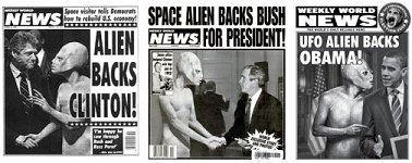 WWN Alien and Previous 3 Presidents 150
