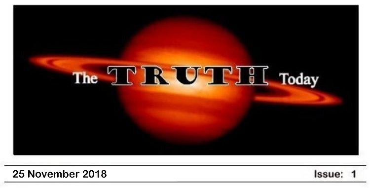 The Truth Today — Issue 1