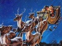 Santa in Sleigh 02 150