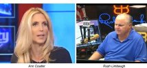 coulter and limbaugh 100