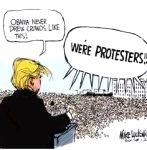Harassing Trump150