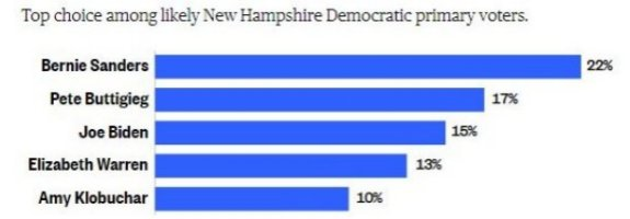 New Hampshire Poll 26-Jan-2020