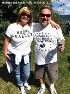 Michelle and Steve - PSU - 9-Sep-2017