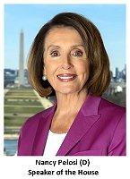 Speaker of the House Nancy Pelosi 200